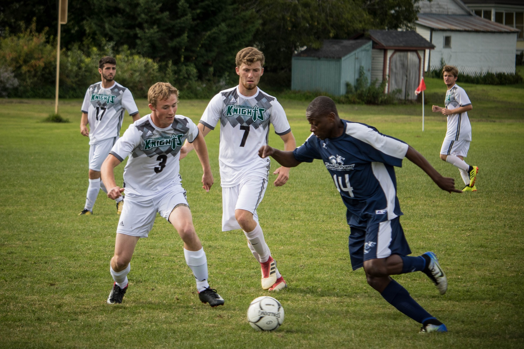 Men's Soccer goes down in close game vs Paul Smith's College