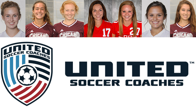 Seven UAA Women Chosen as United Soccer Coaches All-Americans