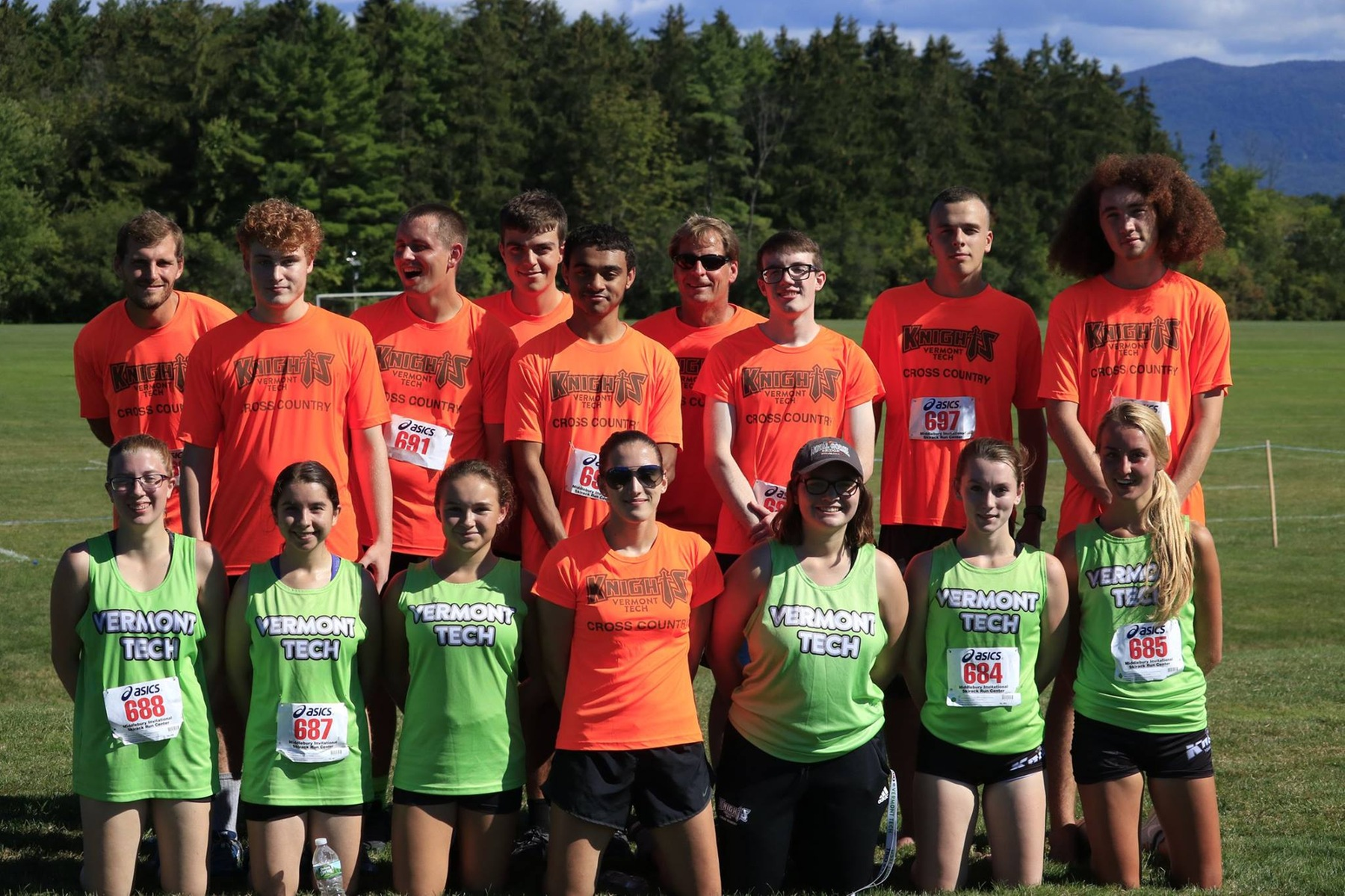 Cross Country teams compete at Middlebury
