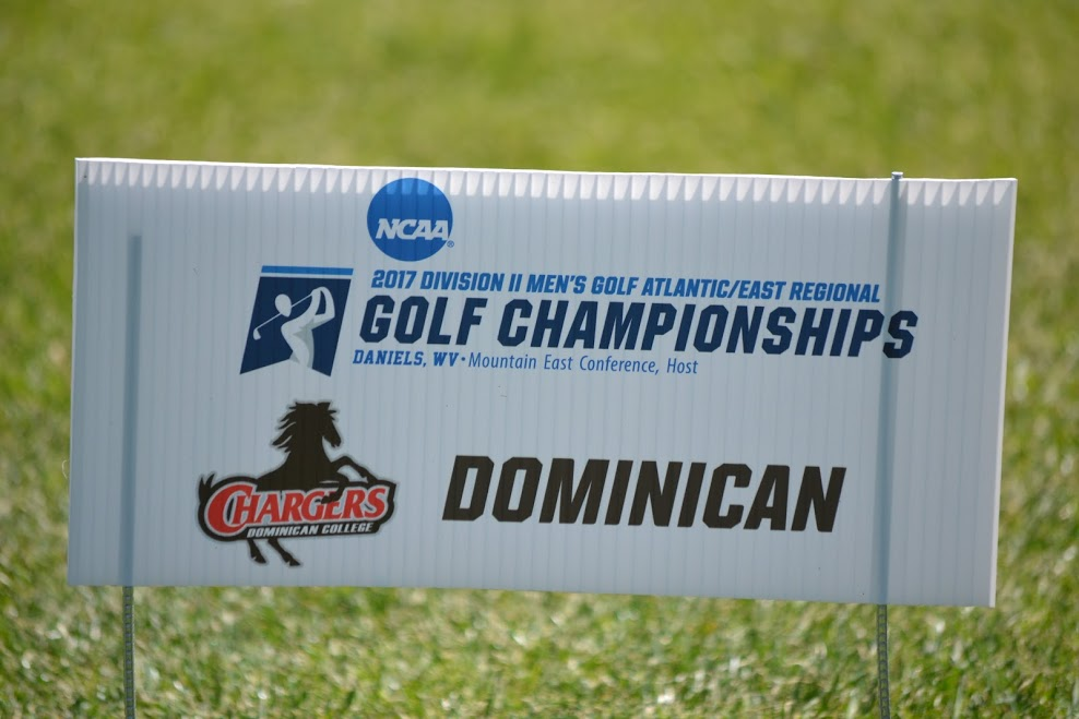 CHARGERS REMAIN SECOND AT NCAA DIVISION II ATLANTIC  EAST GOLF REGIONAL
