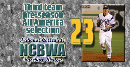Oberacker named third-team pre-season All American by NCBWA