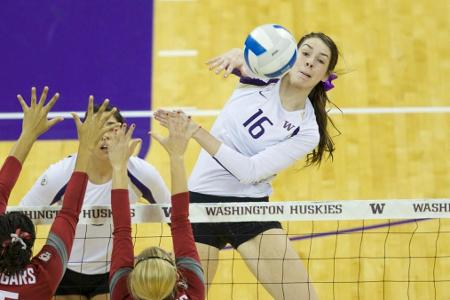 Washington's Vansant Named 2014 Honda Volleyball Sport Award Winner