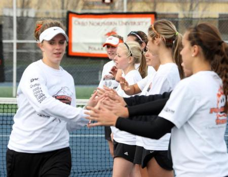 The 2012 Women's Tennis season comes to an end with 5-0 loss to No. 7 Washington & Lee