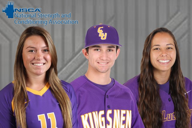 Trio Honored as NSCA All-America Athletes of the Year