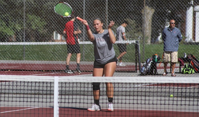 Butterfield named MIAA Tennis Athlete of the Week