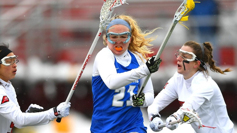Women's Lacrosse Slowed Against Mount St. Mary's on Thursday