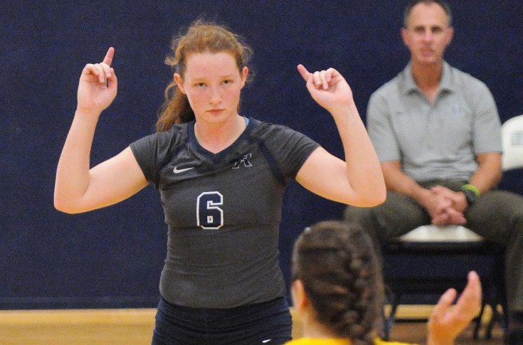 Women's Volleyball: Raiders ghost their way to GNAC Semi-finals