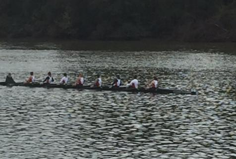 UMW Rowing Competes at Richmond Chase Regatta