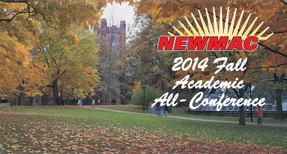 NEWMAC Announces 2014 Fall Academic All-Conference Squads
