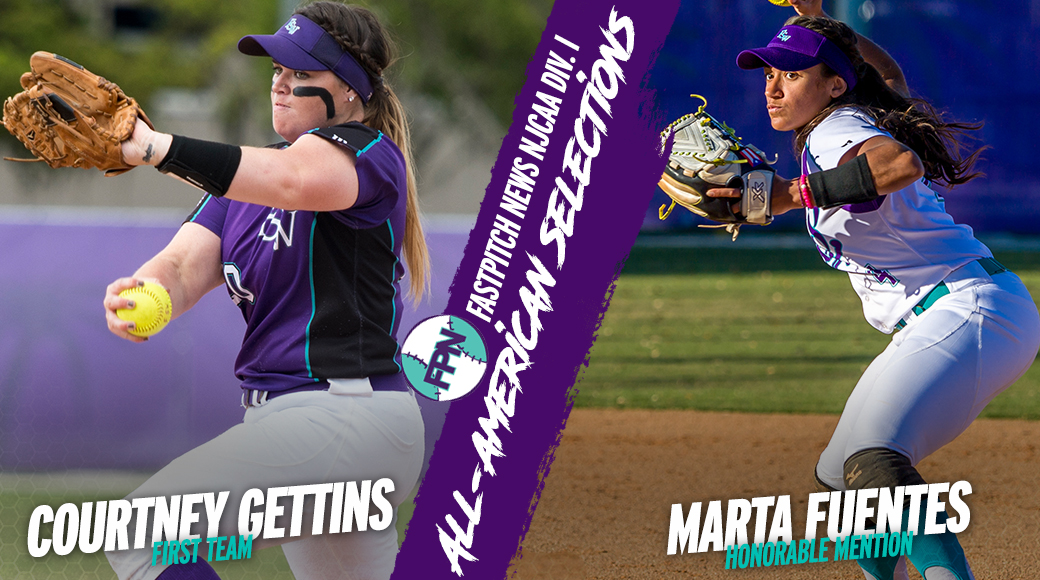 Gettins and Fuentes Earn Fastpitch News All-American Honors