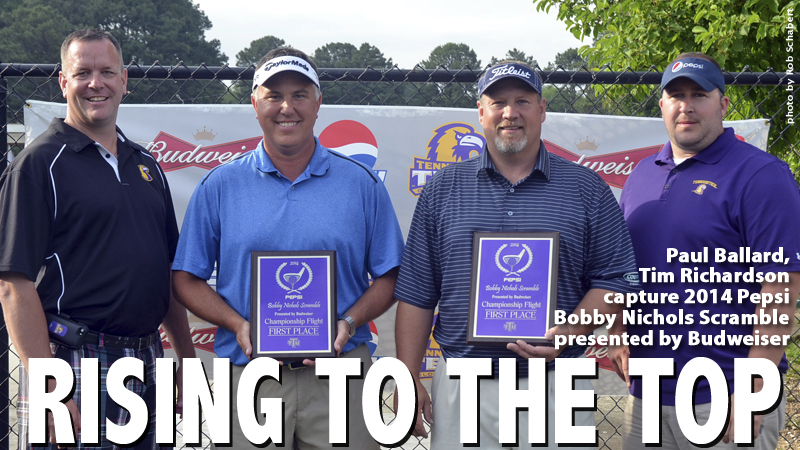 Ballard, Richardson win 2014 Pepsi Bobby Nichols Scramble presented by Budweiser