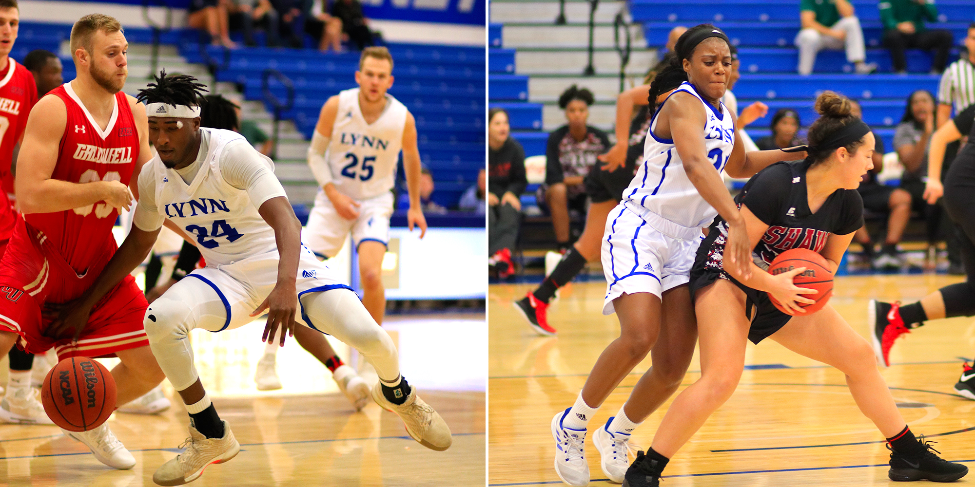 Worrell and Fizer Sweep SSC Defensive Player of the Week Awards