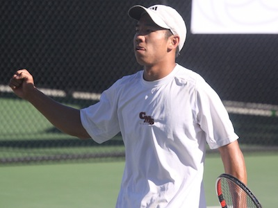 Men's Tennis Wins at #18 Cal Lutheran