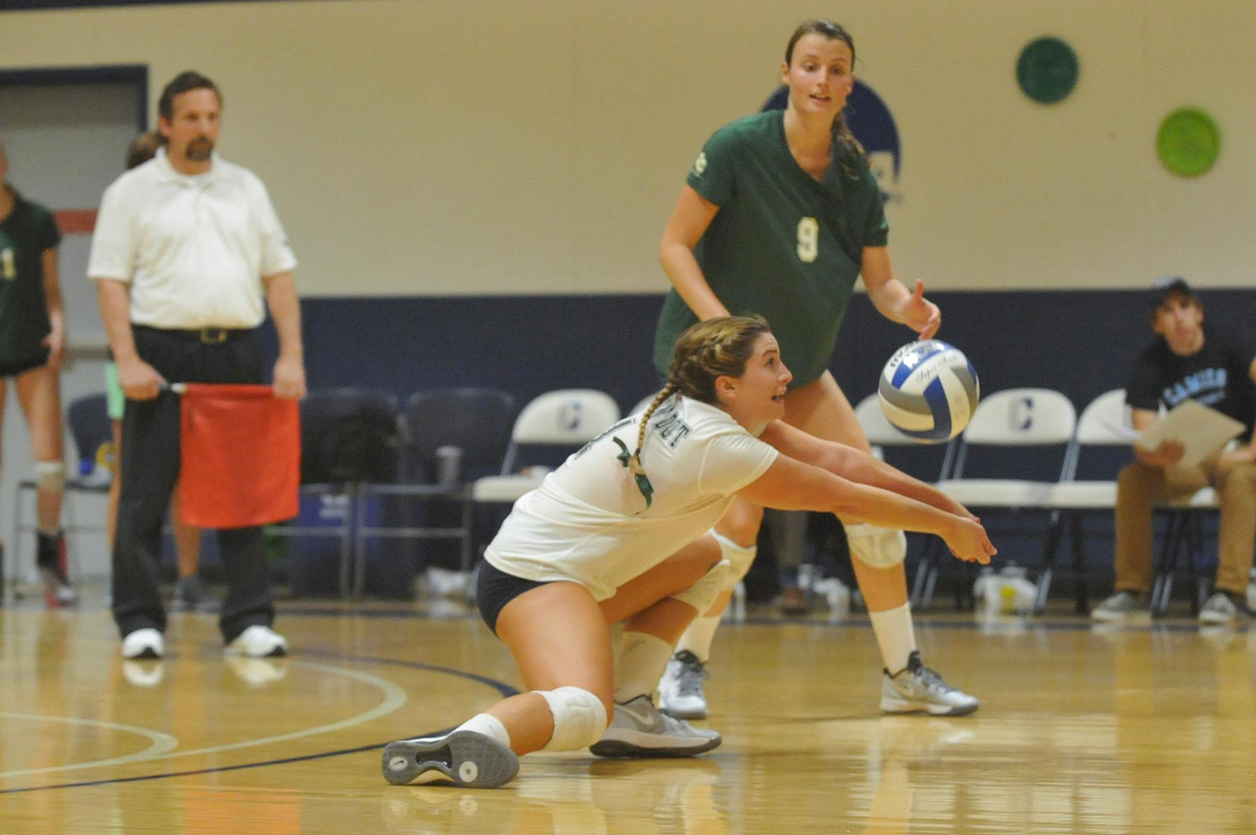 Bowdoin College 3, Connecticut College 0 Johnson Buries 10 Kills for Camels
