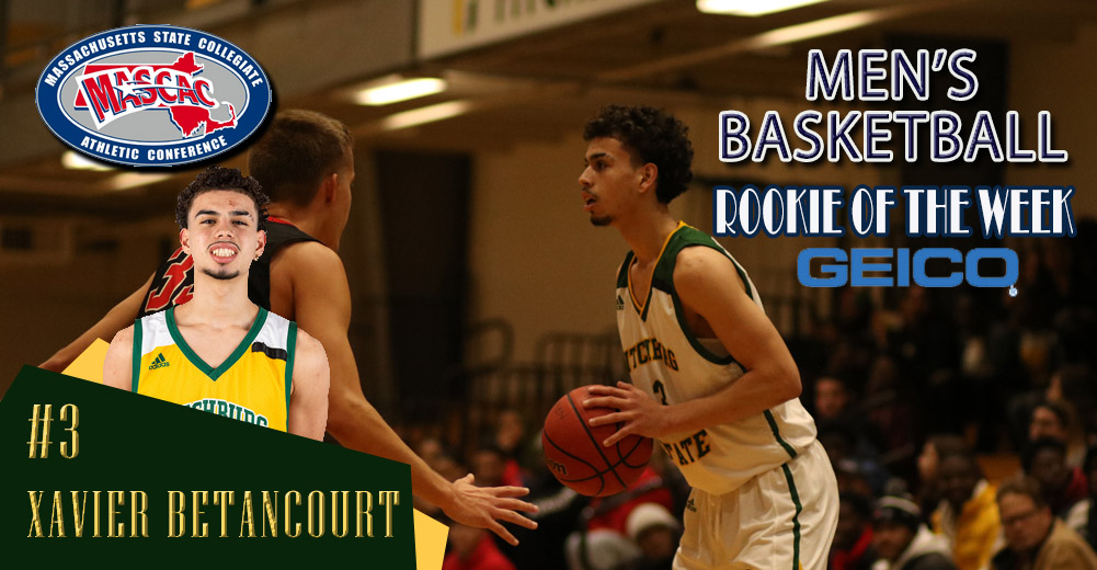 Betancourt Tabbed MASCAC Men's Basketball Rookie Of The Week