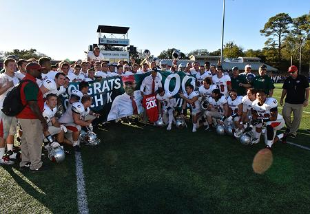 Blocked Field Goal Gives Washington University's Larry Kindbom 200th Career Win