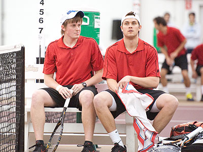 Ferris State's Jack Swan and Justin Hermes both took part in Tuesday's match at Chicago
