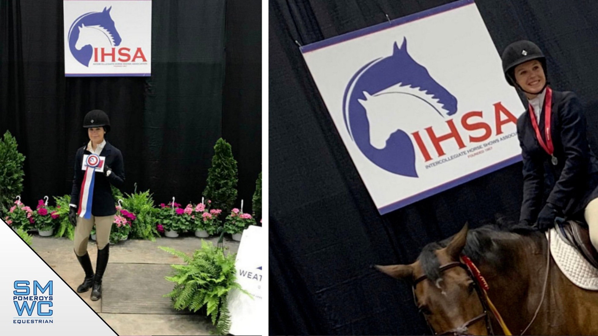 Hunt Seat Represented Well at IHSA Nationals; Cobb and Gingerich Win Honors
