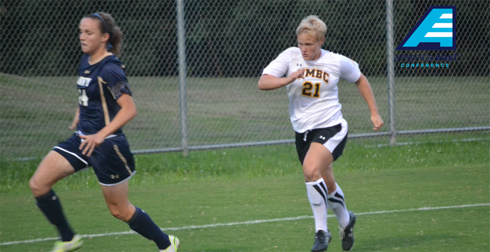 Women's Soccer's Virginia Moyer Earns First America East Rookie of the Week