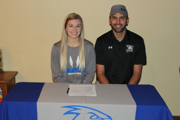 Southland Senior Emily Hovden Signs with Track and Field
