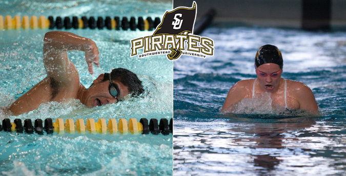 Pirate swimmers finish impressive weekend vs. McMurry