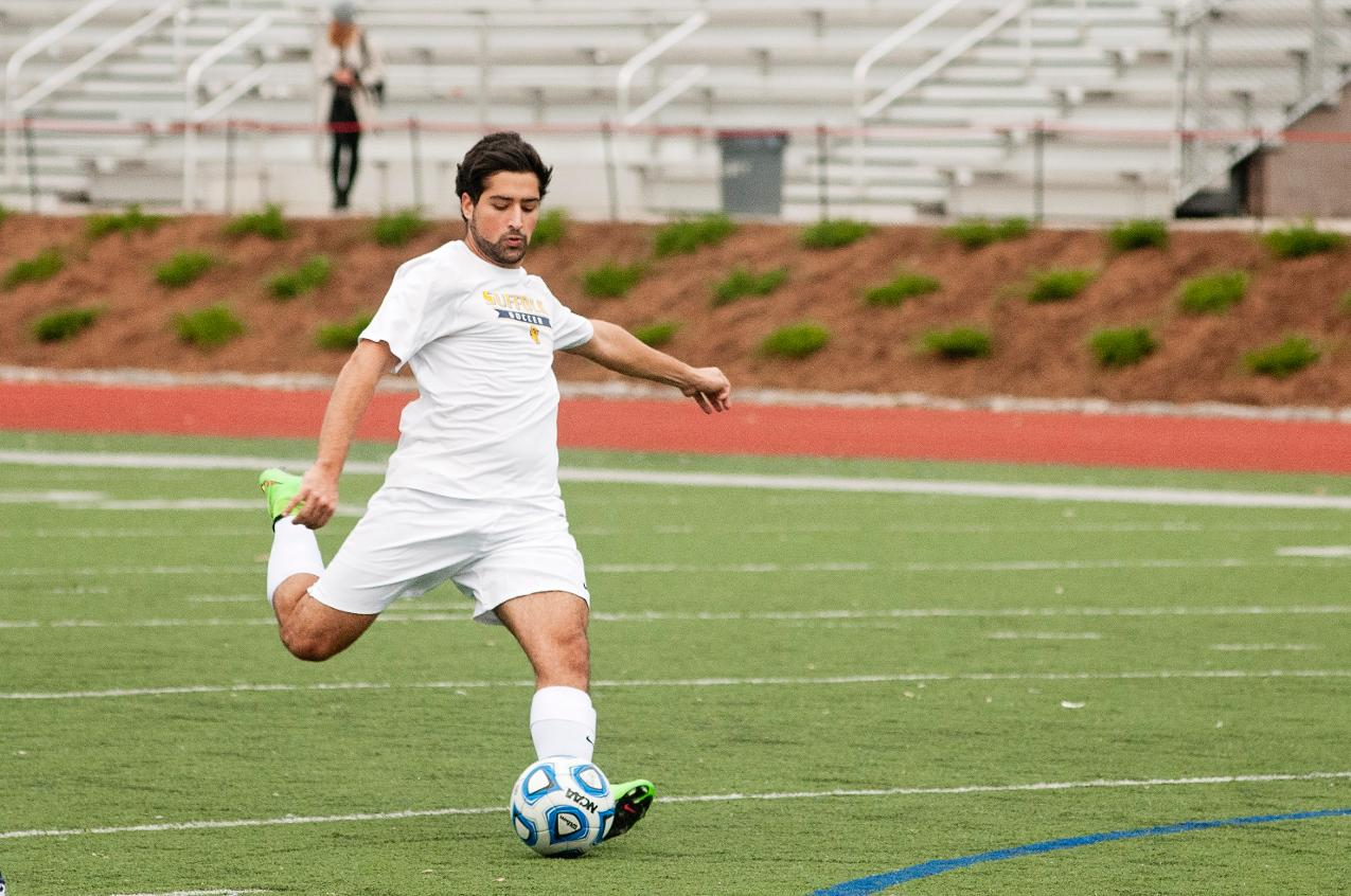 Second-Half Sends Newbury Past Men's Soccer in Season Opener, 3-2