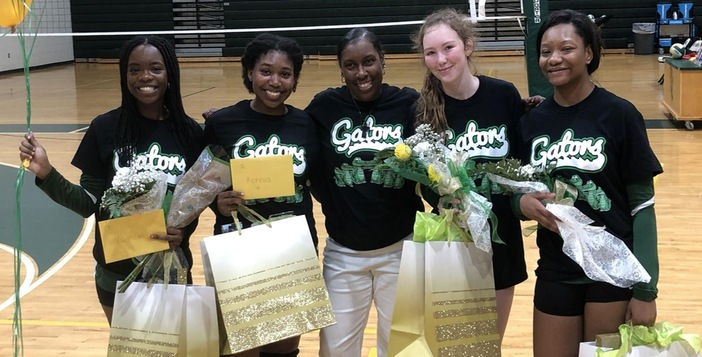 Lady Gators Wrap up Regular Season with Three Victories