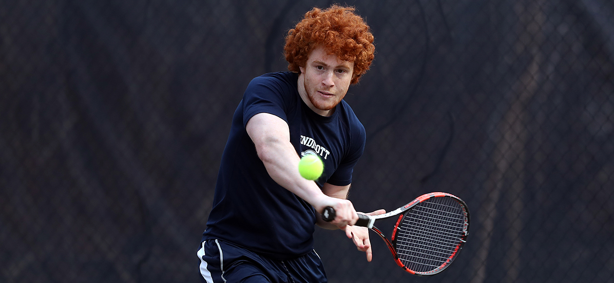 Men's Tennis Falls to Holy Cross, 7-0