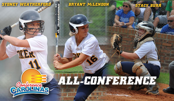 Three Softball Players Land on All-Conference Team