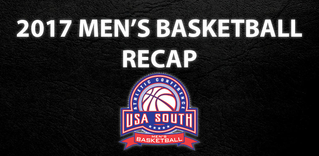 Men's Basketball: Watch USA South's video recap for men's basketball