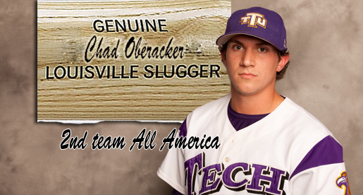 Make that two; Oberacker selected second-team pre-season All America by Louisville Slugger