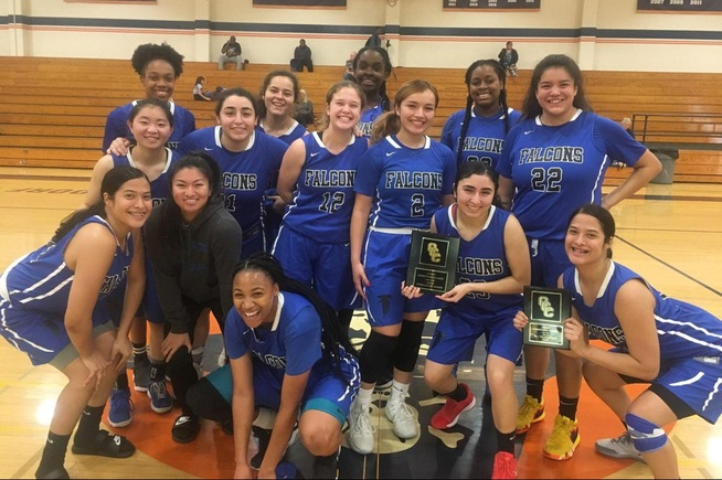 The Falcons won the consolation championship at the Coast Christmas Classic