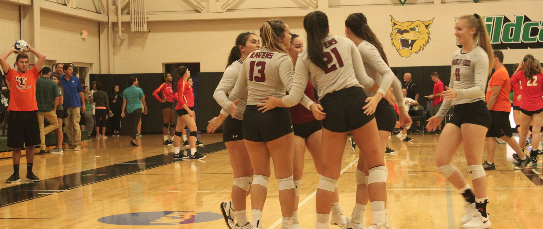 Ravens Comeback Down Nine in First Set, Lose in Four to Bentley