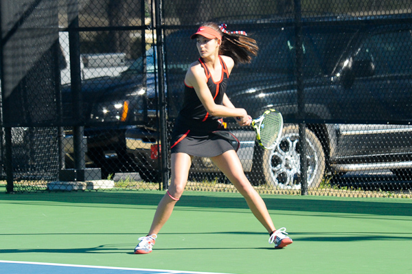 Huntingdon women's tennis remains unbeaten in conference