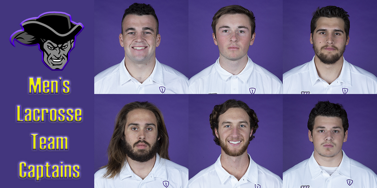 Men's Lacrosse announces 2019 Captains