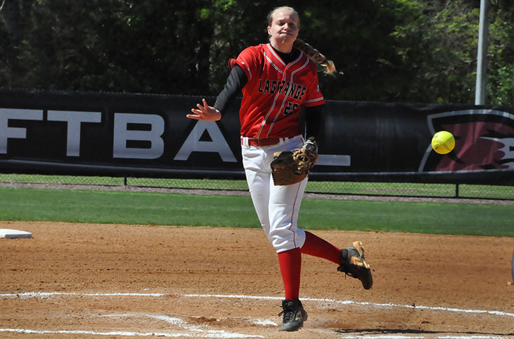 Softball: N.C. Wesleyan takes two USA South games from Panthers