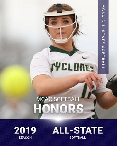 MCAC Softball All-State Honors Announced