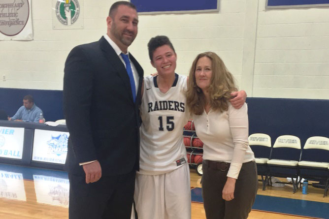 Women's Basketball: Butterfield records point #1000 in final meeting with Daniel Webster