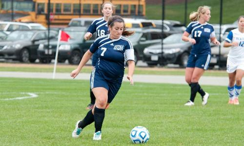 Women's Soccer Shoot Past Monks In GNAC Playoffs