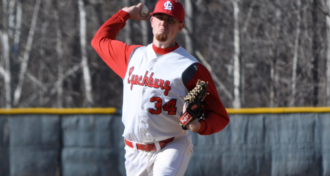 Martin Henderlite Earns ODAC Pitcher of the Week Honors