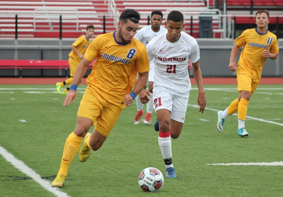 MEN'S SOCCER DROPS 2-1 ROAD DECISION TO BRIDGEWATER STATE