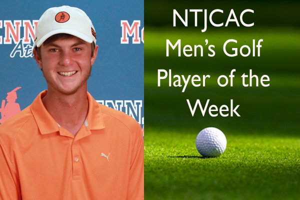 NTJCAC Men's Golfer of the Week (Oct. 15-21)