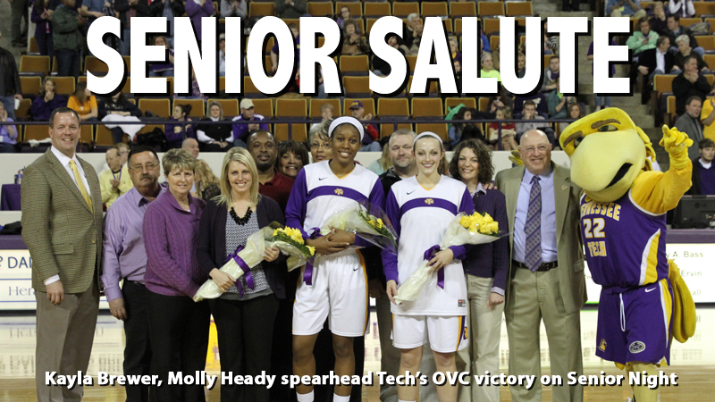 Golden Eagle seniors lead the way to OVC win over Morehead State