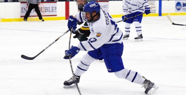 Strong third period allows Marian to skate past Men's Hockey