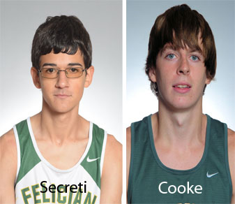 Secreti Leads Men's Cross-Country In Debut