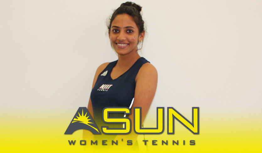 NJIT's Saravanan Notches @ASUNTennis Weekly Honor With 4-0 Performance