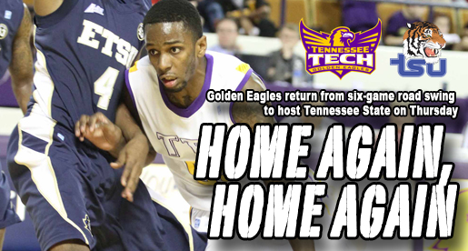Road swing ends, Golden Eagles return home to face Tennessee State