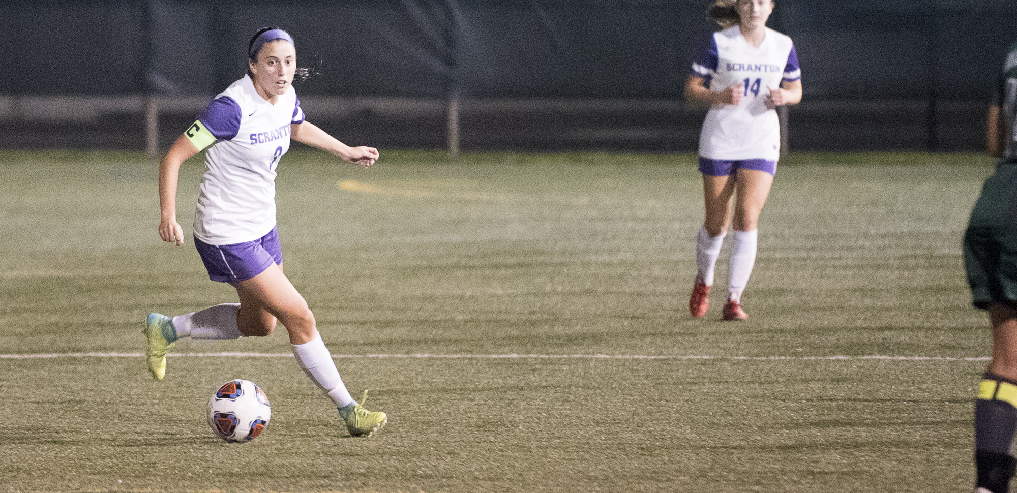 Junior Erica Licari converted a penalty kick to lift the Royals past Moravian on Saturday.