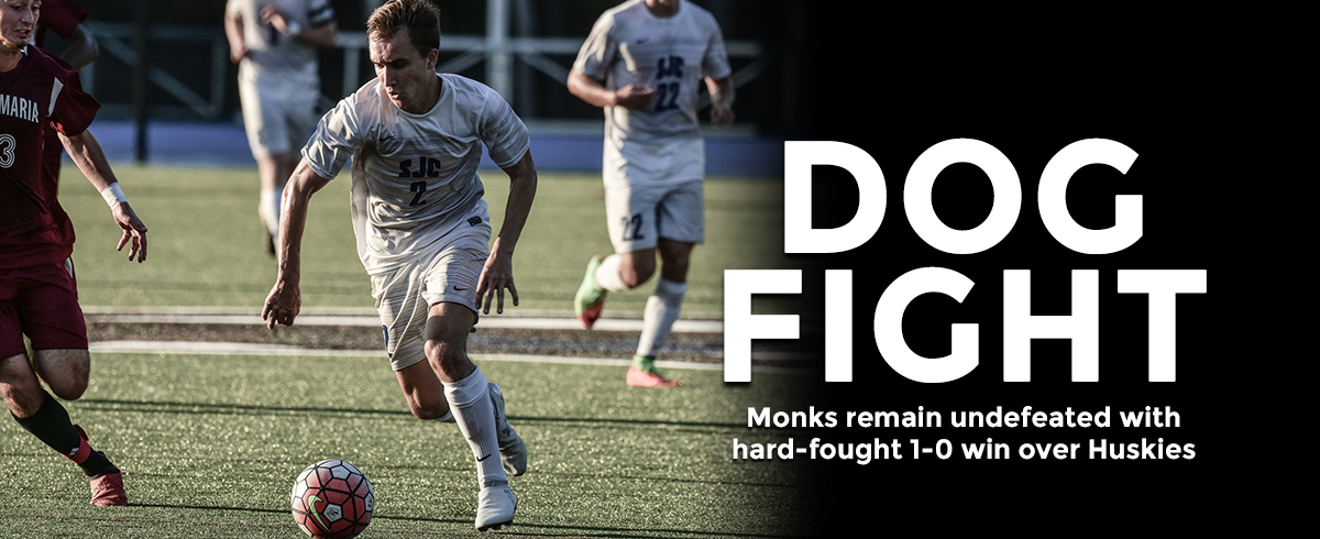 Monks Tip Huskies, 1-0