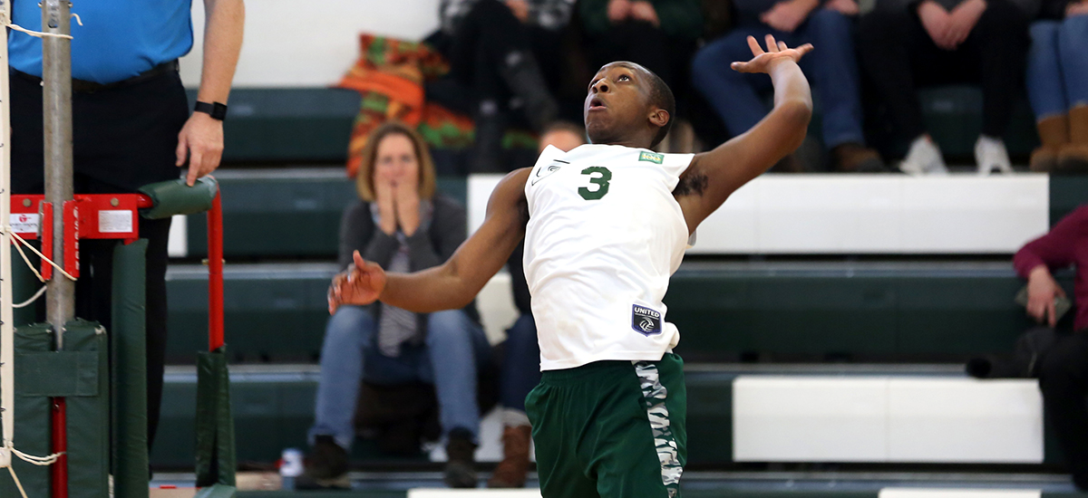 Men's volleyball drops pair of matches on opening night